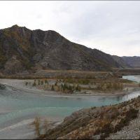 049-Впадение-реки-Чуя-в-Катунь